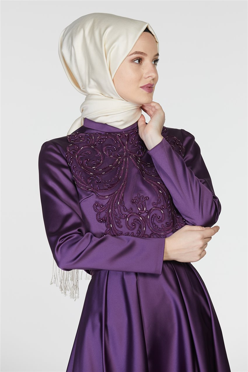 Tuğba Suit-Purple M5142-19 - 7