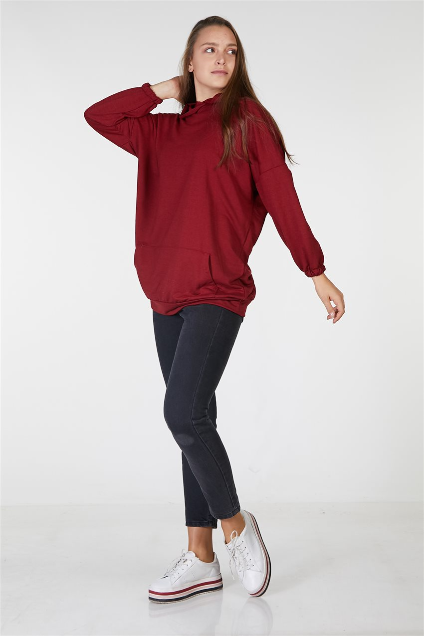 Tunic-Claret Red UT-2724-67 - 5
