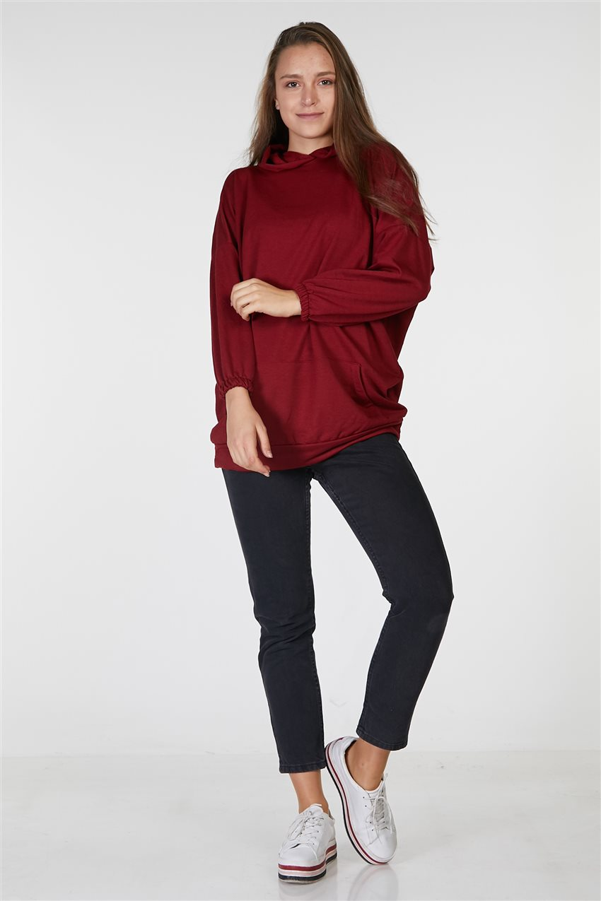 Tunic-Claret Red UT-2724-67 - 6
