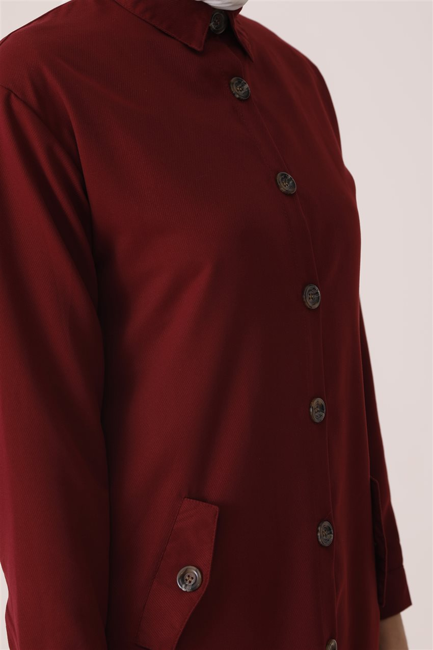 Tunic-Claret Red PL-541-67 - 7