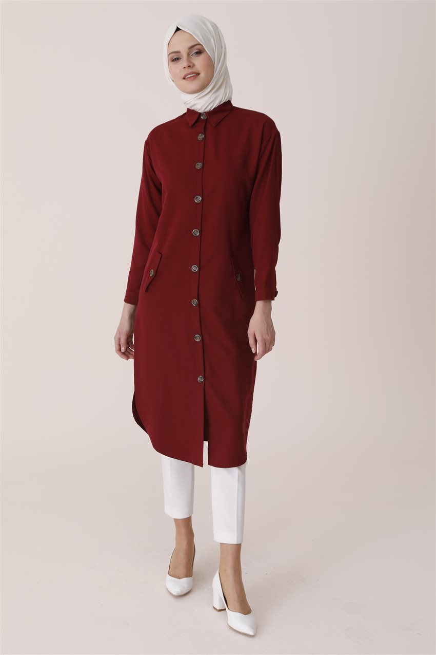 Tunic-Claret Red PL-541-67 - 5