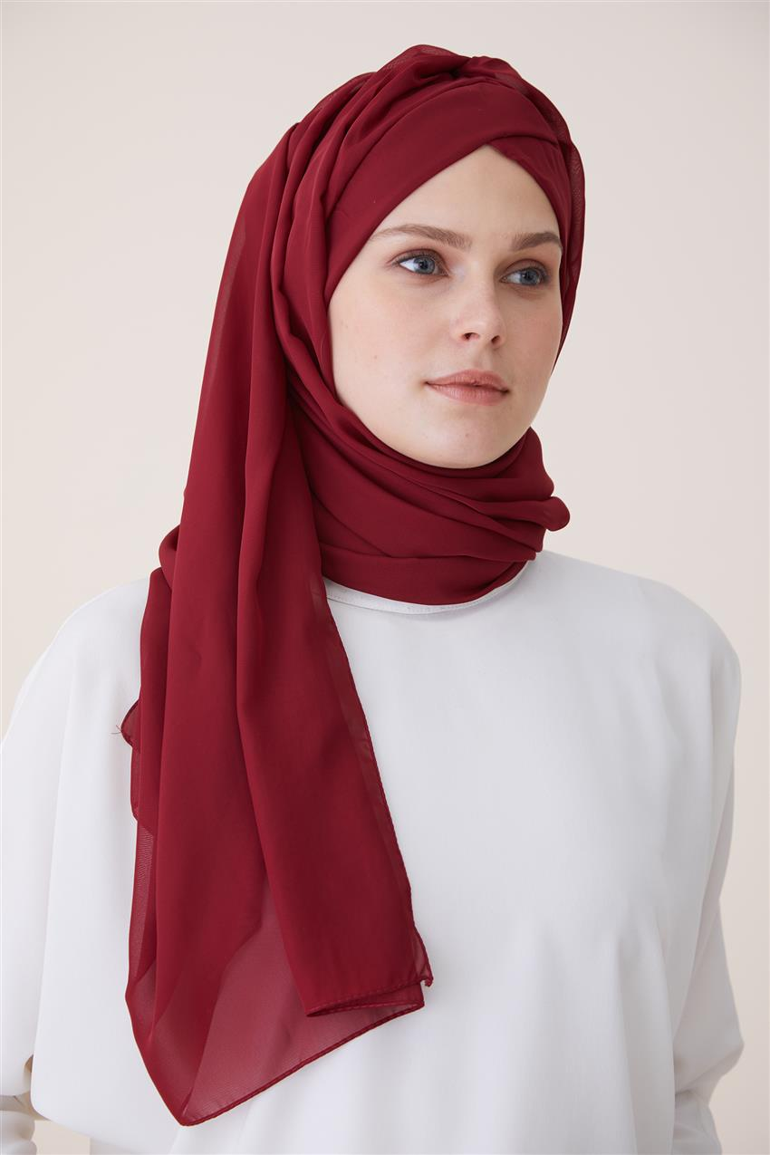 Shawl Bonnets 1461 Claret Red - 13