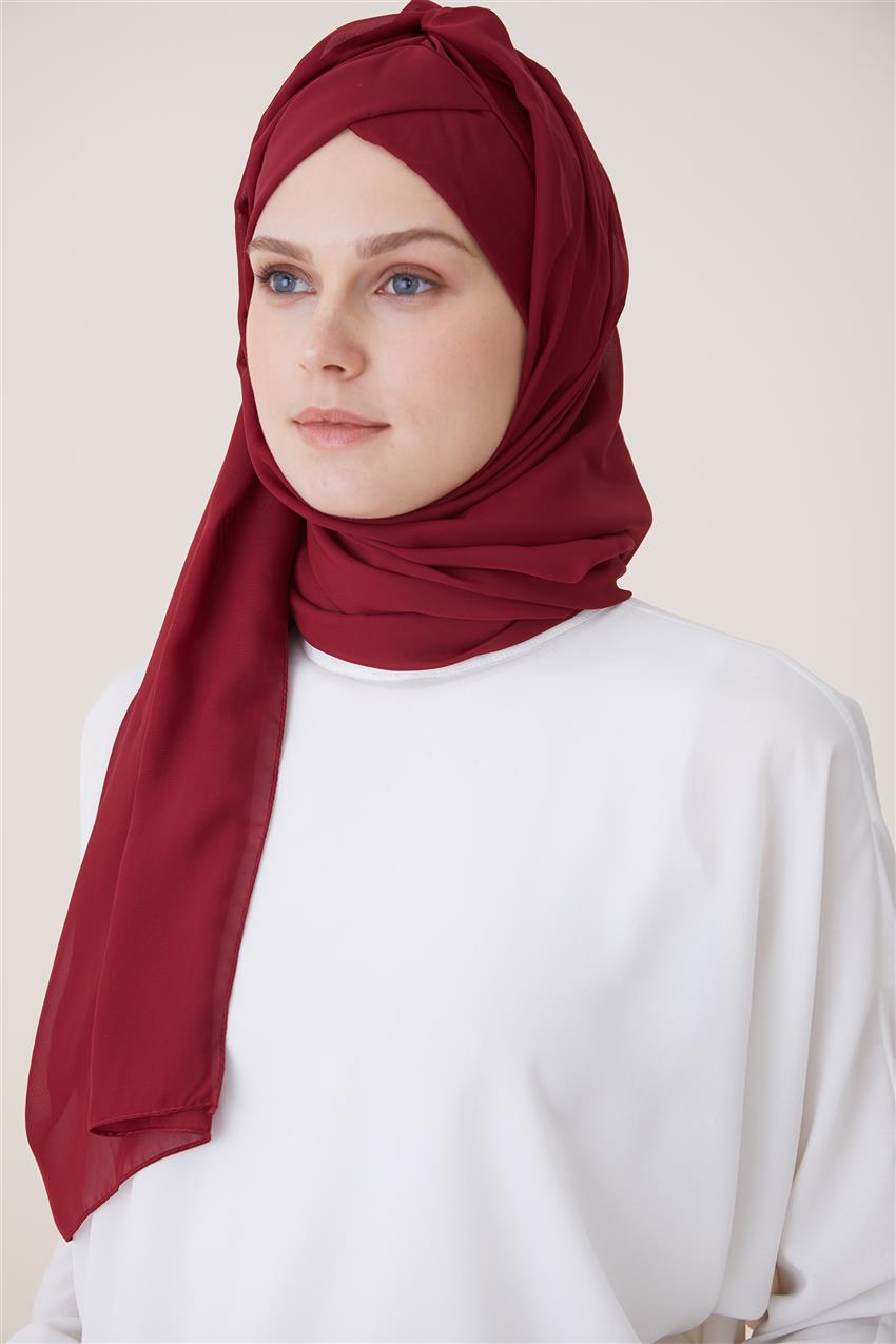 Shawl Bonnets 1461 Claret Red - 12