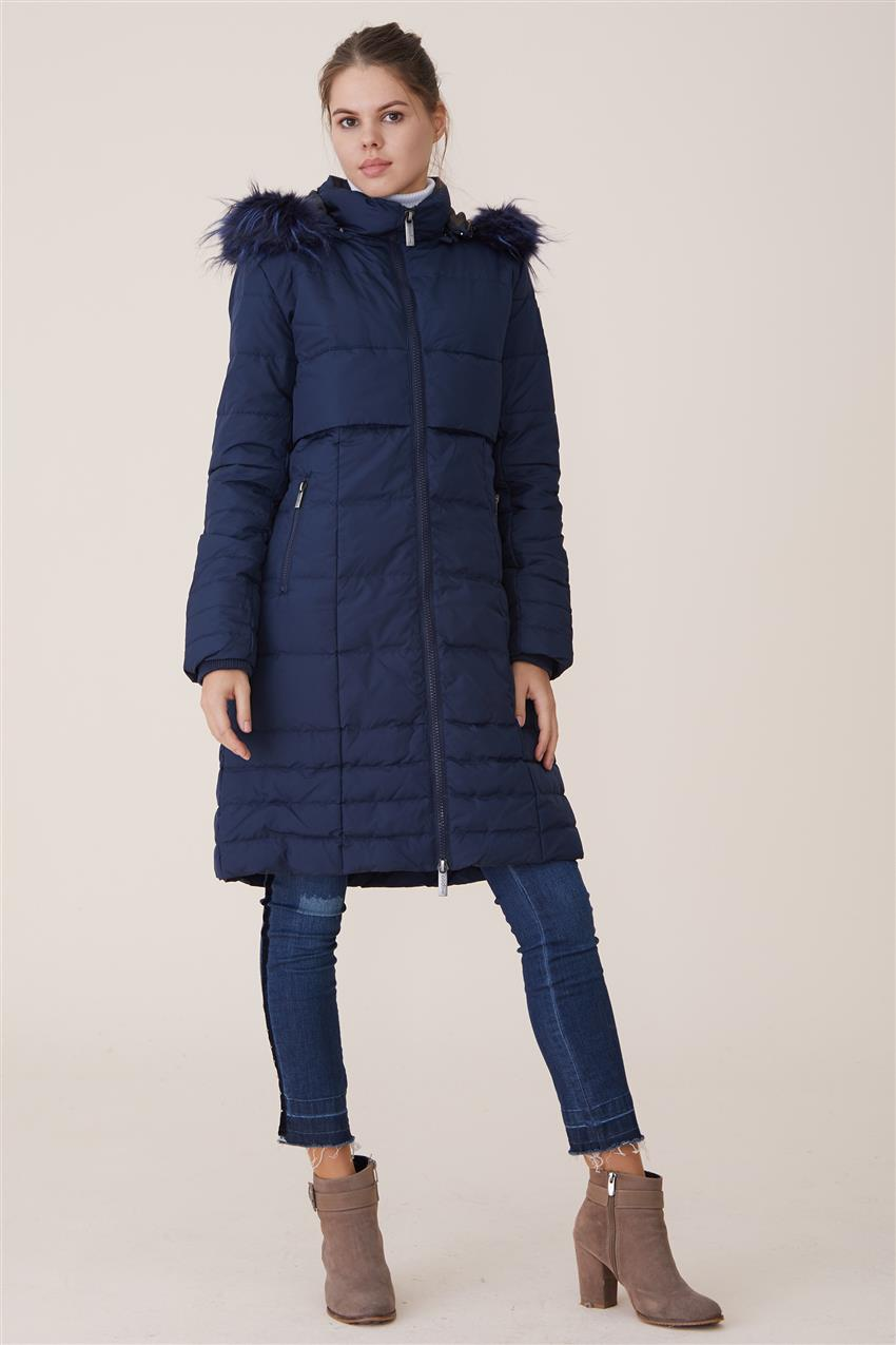 Coat-Navy Blue DO-A7-67006-11 - 15