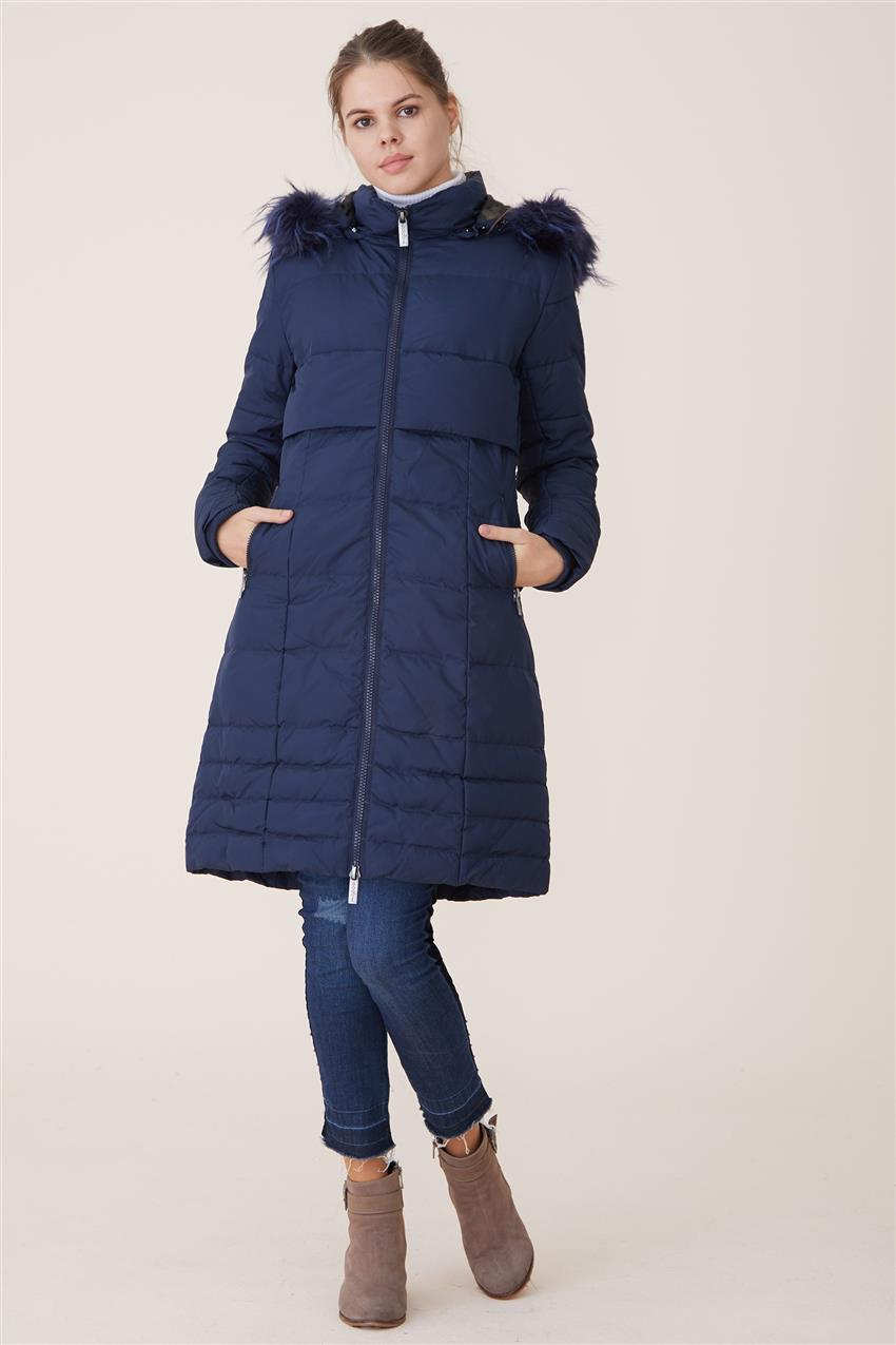 Coat-Navy Blue DO-A7-67006-11 - 14