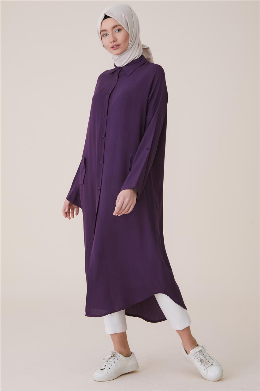 Tunic-Purple 2492-45 - 8