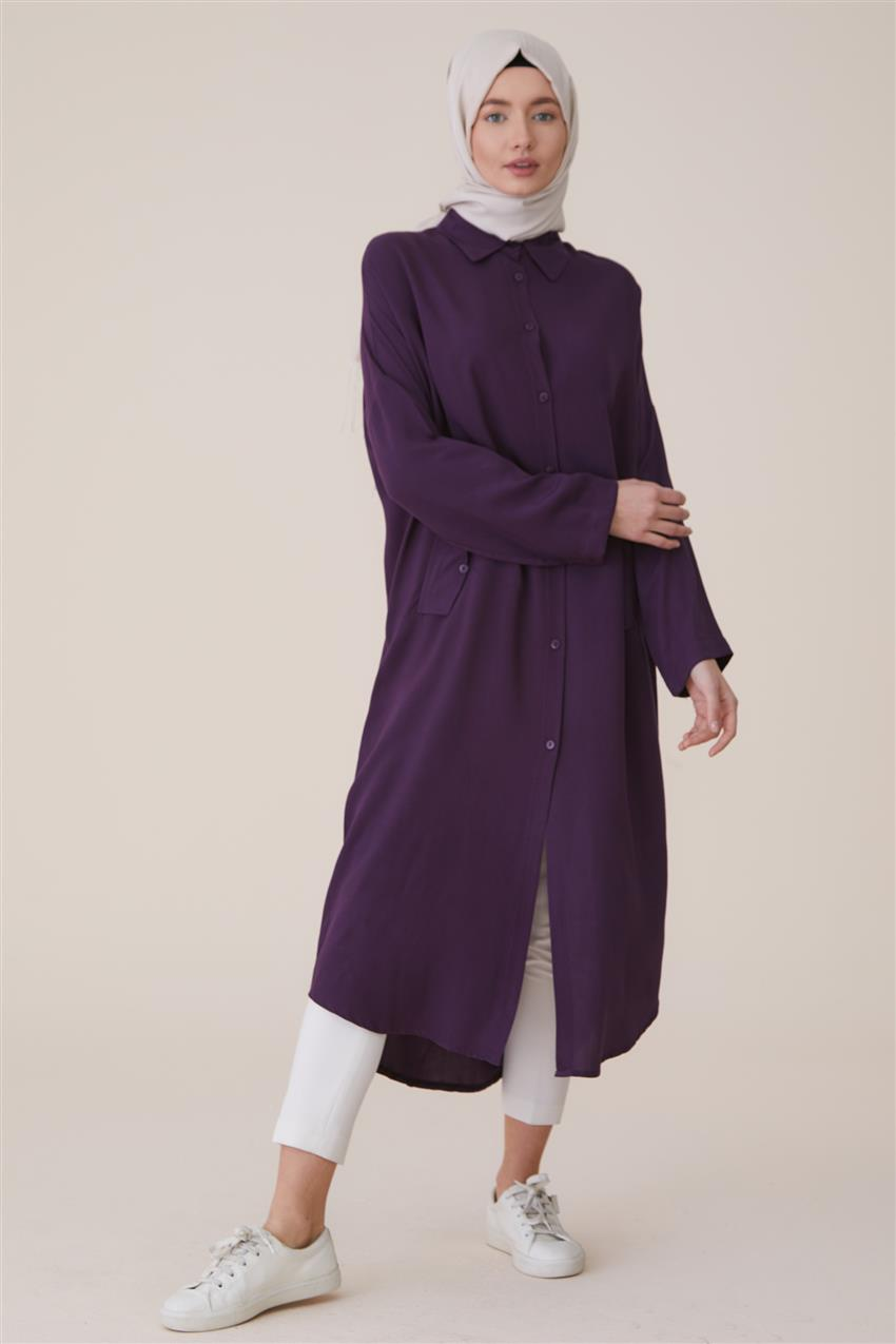 Tunic-Purple 2492-45 - 7