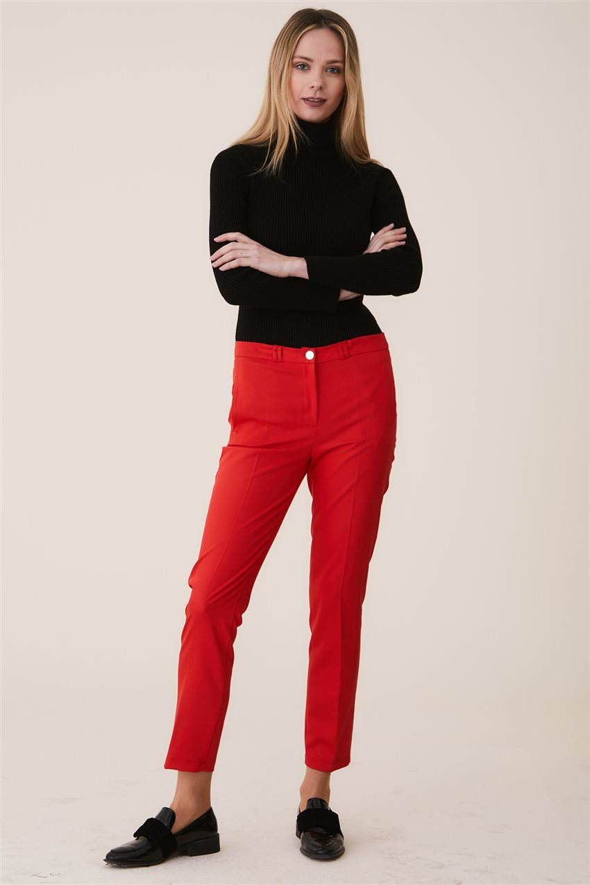 Belli Pants-Red 9YB2749-34 - 11