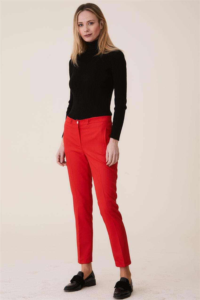 Belli Pants-Red 9YB2749-34 - 7