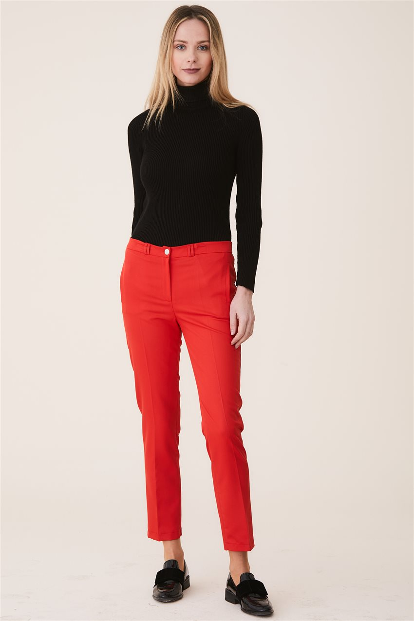 Belli Pants-Red 9YB2749-34 - 10