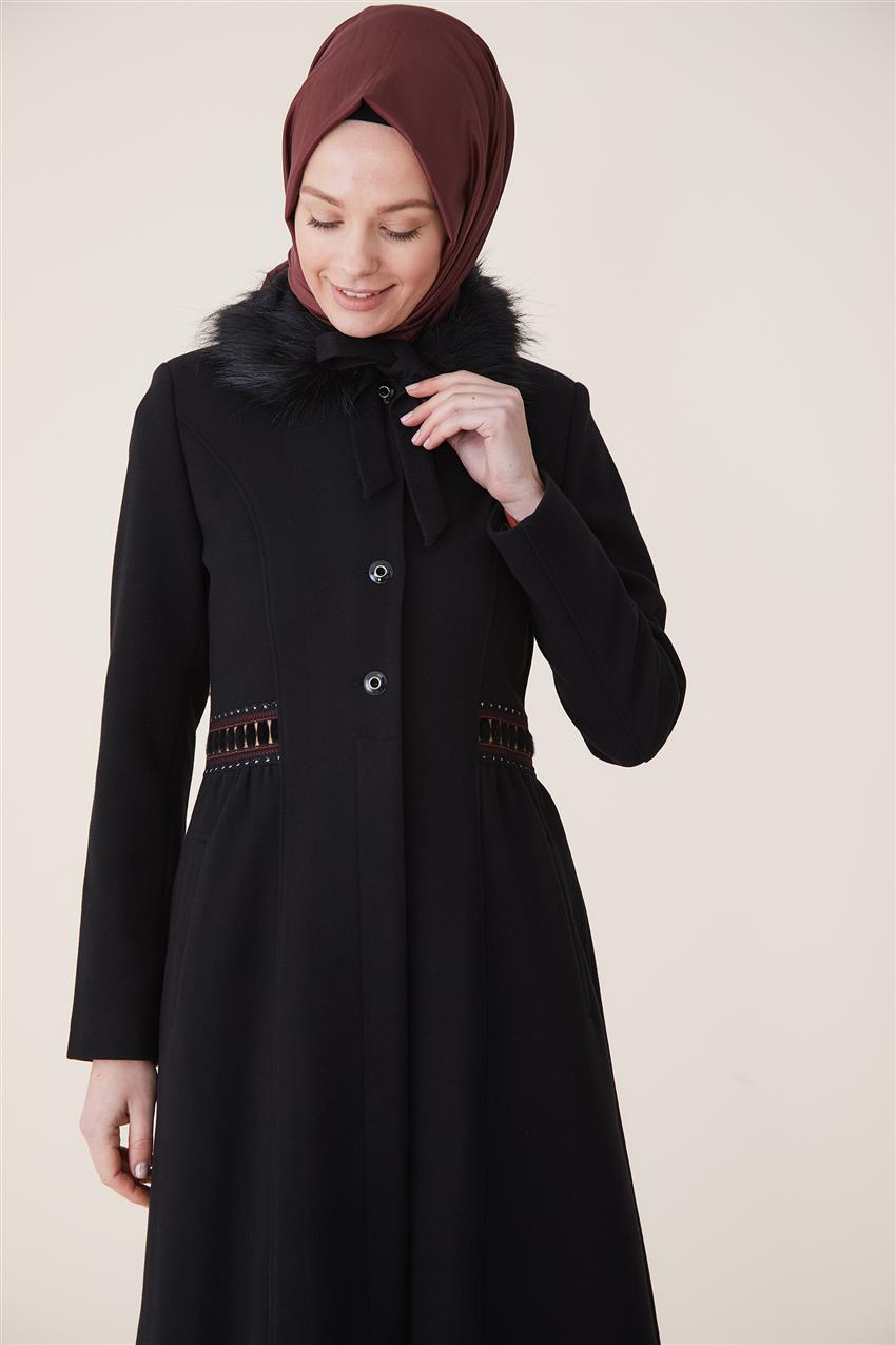 Coat-Black DO-A9-57027-12 - 10