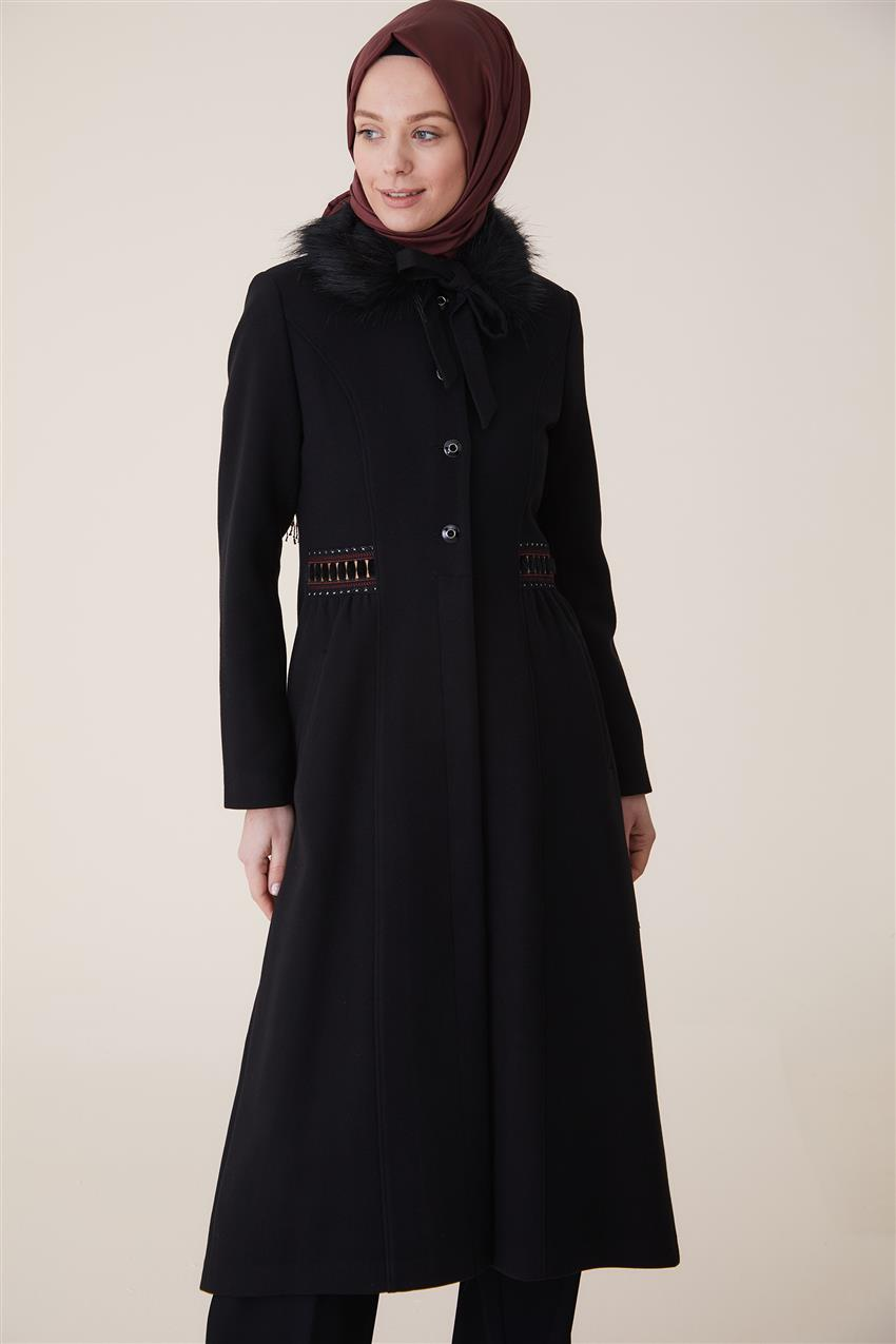 Coat-Black DO-A9-57027-12 - 7