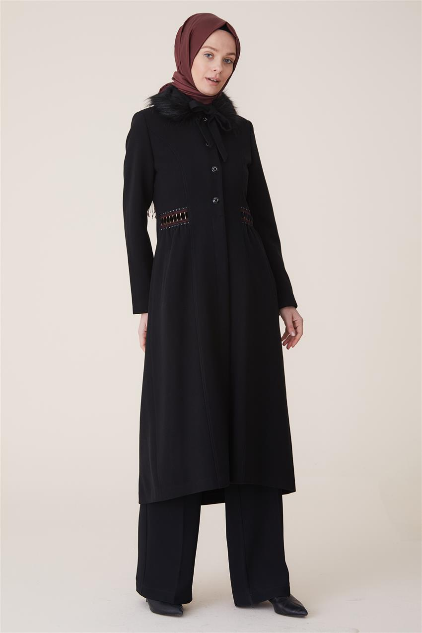 Coat-Black DO-A9-57027-12 - 8