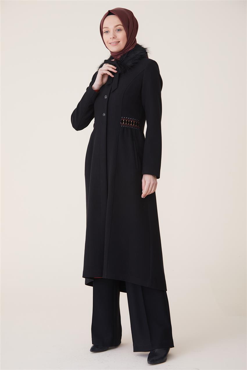 Coat-Black DO-A9-57027-12 - 9