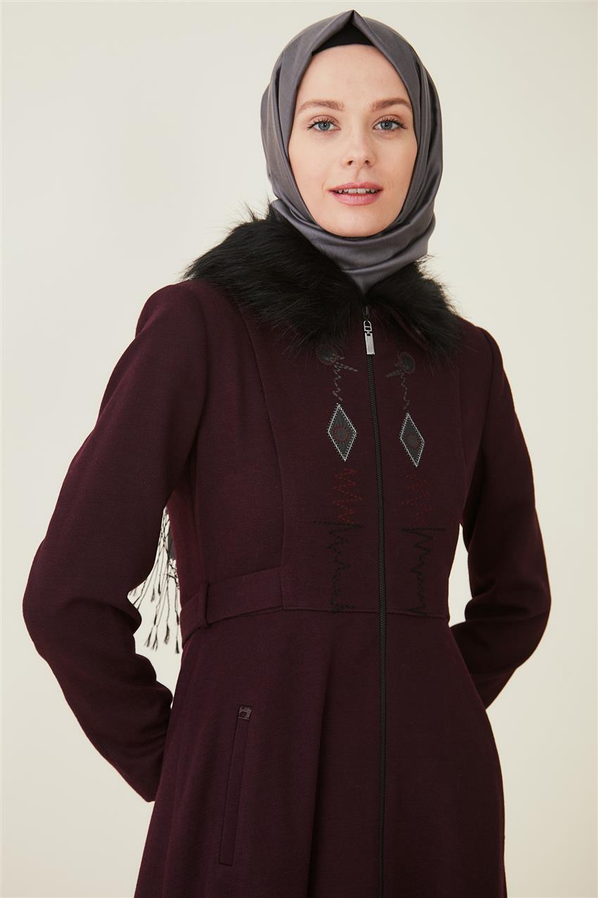 Coat-Claret Red DO-A9-57012-26 - 9