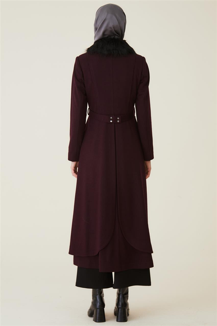 Coat-Claret Red DO-A9-57012-26 - 12