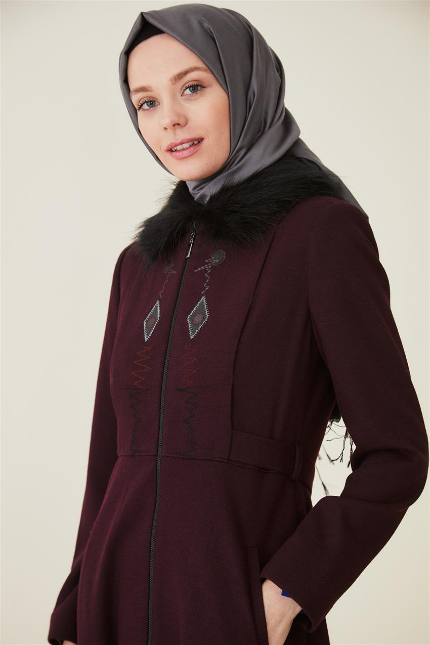 Coat-Claret Red DO-A9-57012-26 - 10