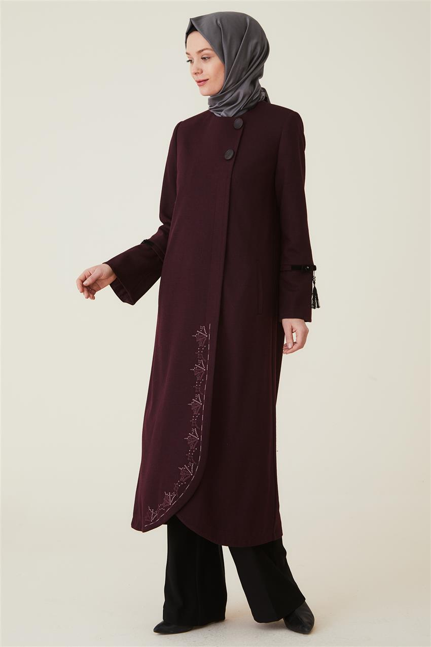 Coat-Claret Red DO-A9-57010-26 - 8
