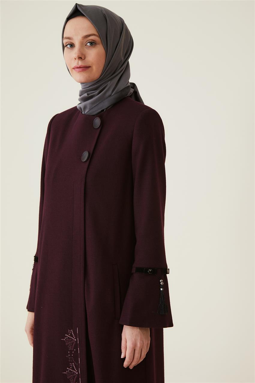 Coat-Claret Red DO-A9-57010-26 - 10