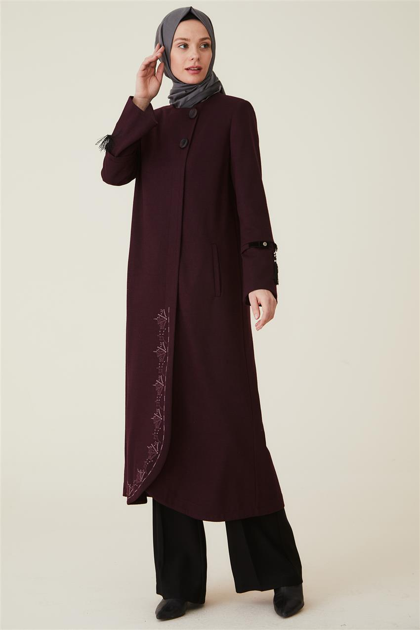 Coat-Claret Red DO-A9-57010-26 - 7
