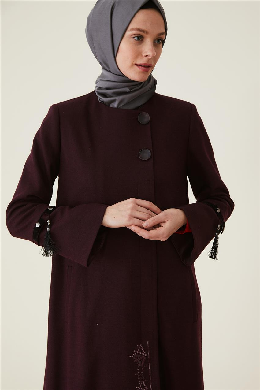 Coat-Claret Red DO-A9-57010-26 - 9