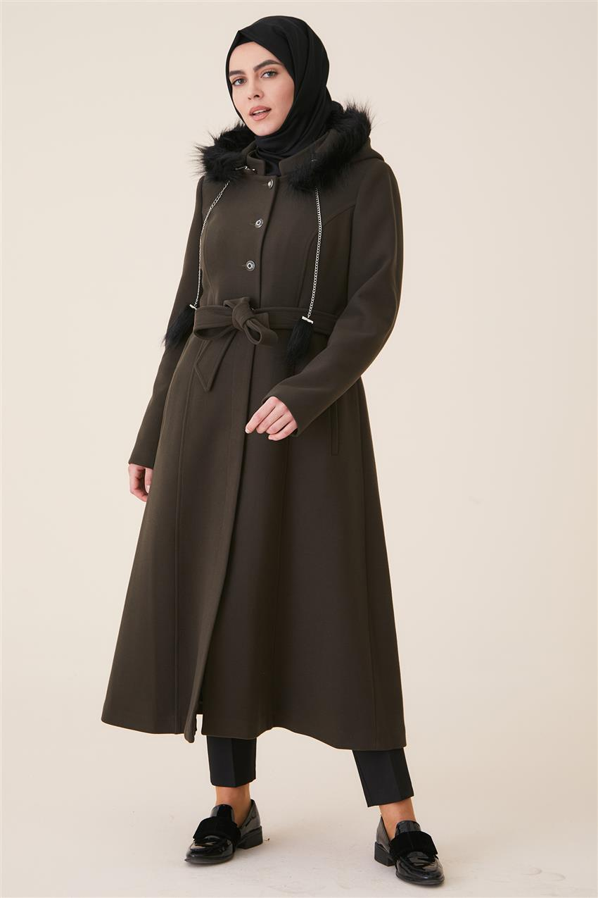 Coat-Khaki DO-A9-57028-21 - 7