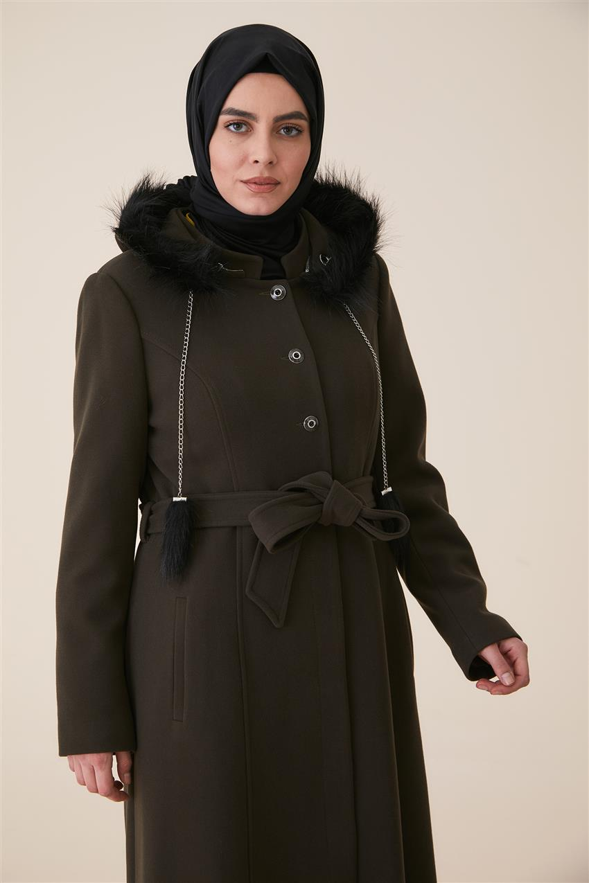 Coat-Khaki DO-A9-57028-21 - 9