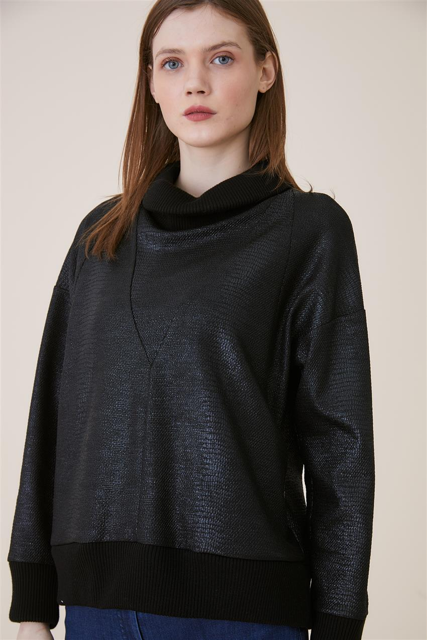 Blouse-Black KA-A9-10017-12 - 10