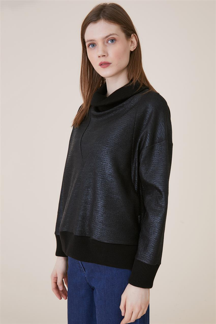 Blouse-Black KA-A9-10017-12 - 7