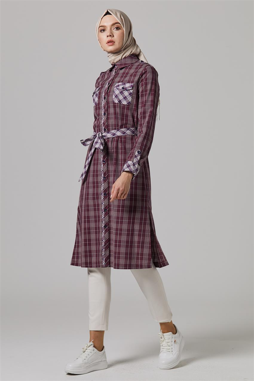 Tunic-Claret Red DO-B9-61105-26 - 7