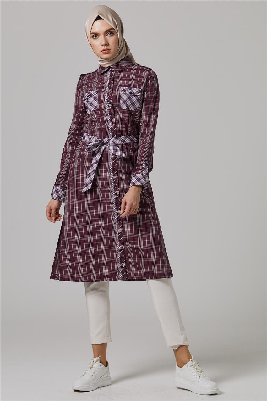 Tunic-Claret Red DO-B9-61105-26 - 9
