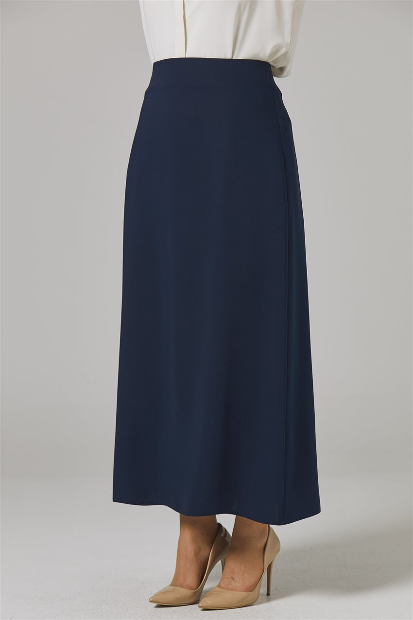Skirt-Navy Blue 778-17 - 10