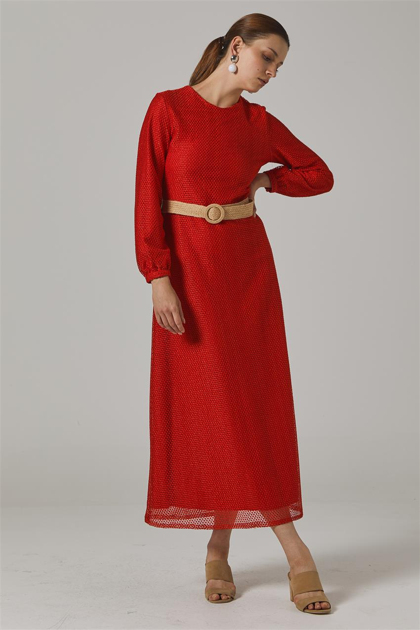 Dress-Red KY-B20-83006-19 - 8