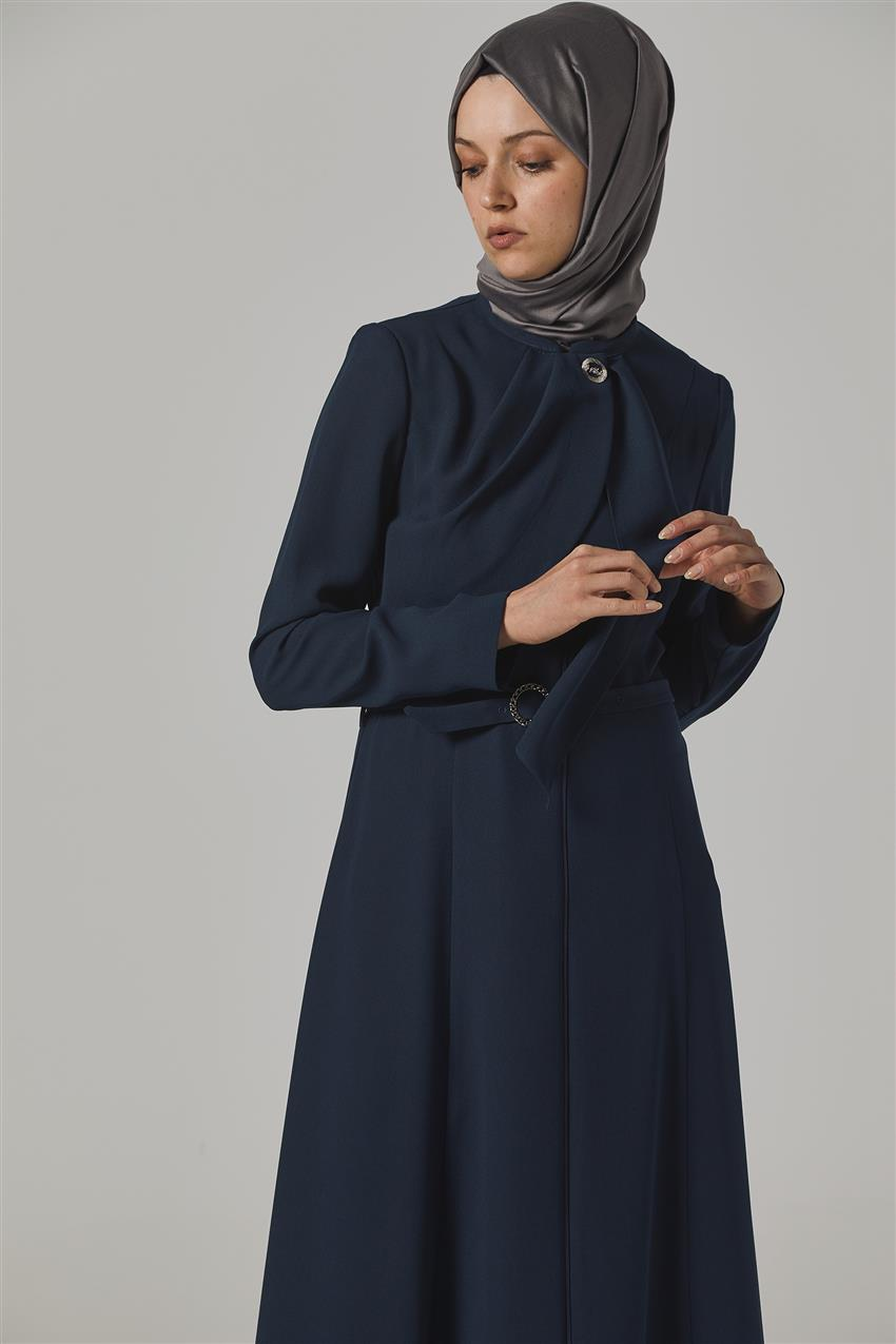 Topcoat-Navy Blue KA-B20-15031-11 - 9