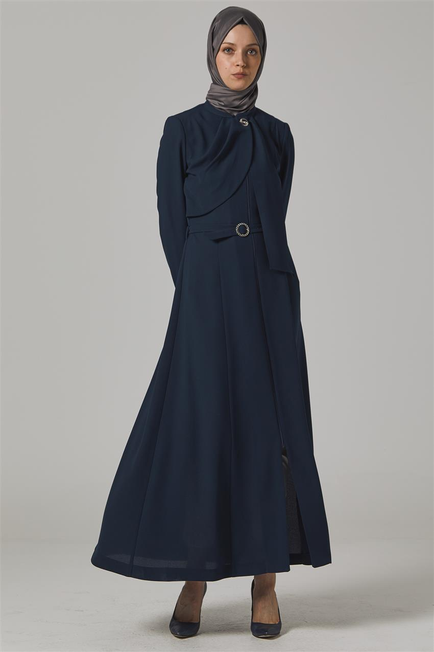 Topcoat-Navy Blue KA-B20-15031-11 - 8