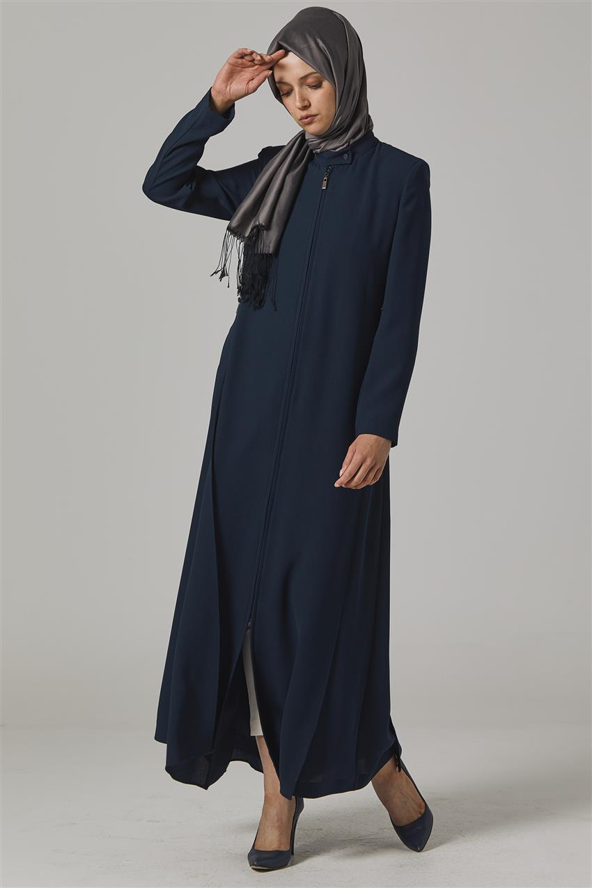 Topcoat-Navy Blue KA-B20-15049-11 - 7