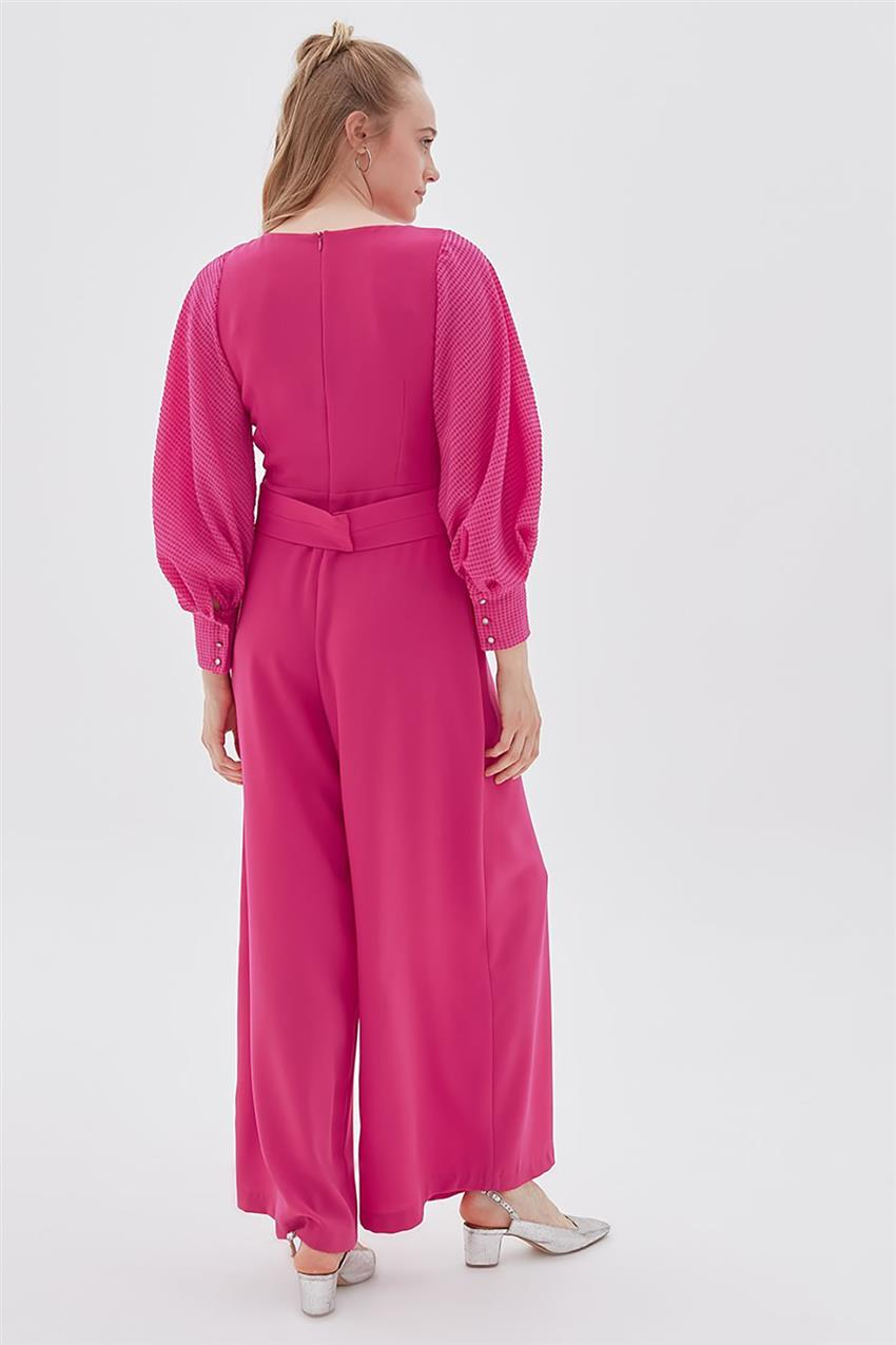 Dress-Fuchsia KA-B20-22013-04 - 16