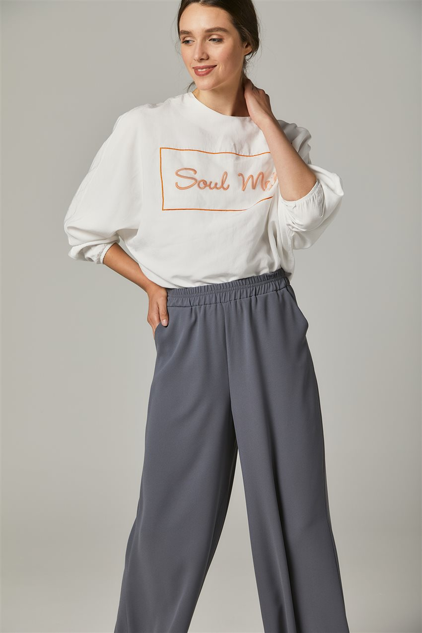 Pants-Gray MS752-07 - 7