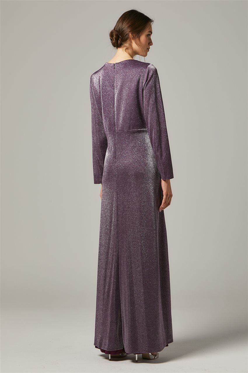 Evening Dress-Purple 1322-45 - 8