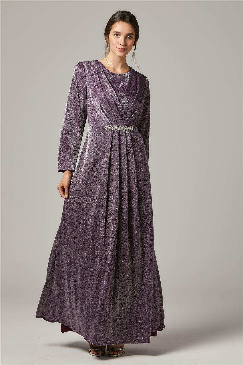Evening Dress-Purple 1322-45 - 7