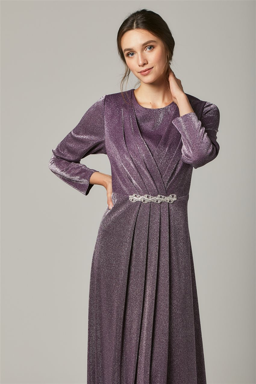 Evening Dress-Purple 1322-45 - 5