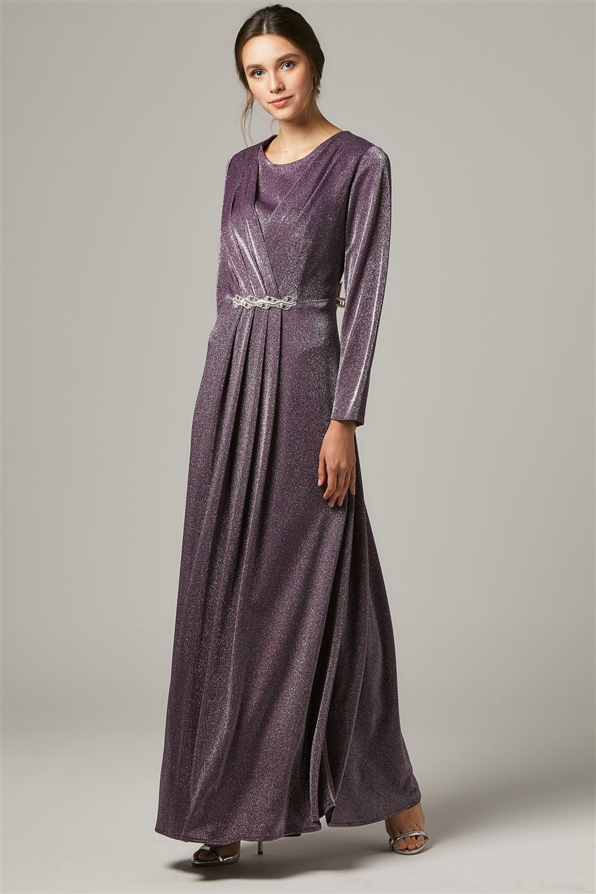Evening Dress-Purple 1322-45 - 6