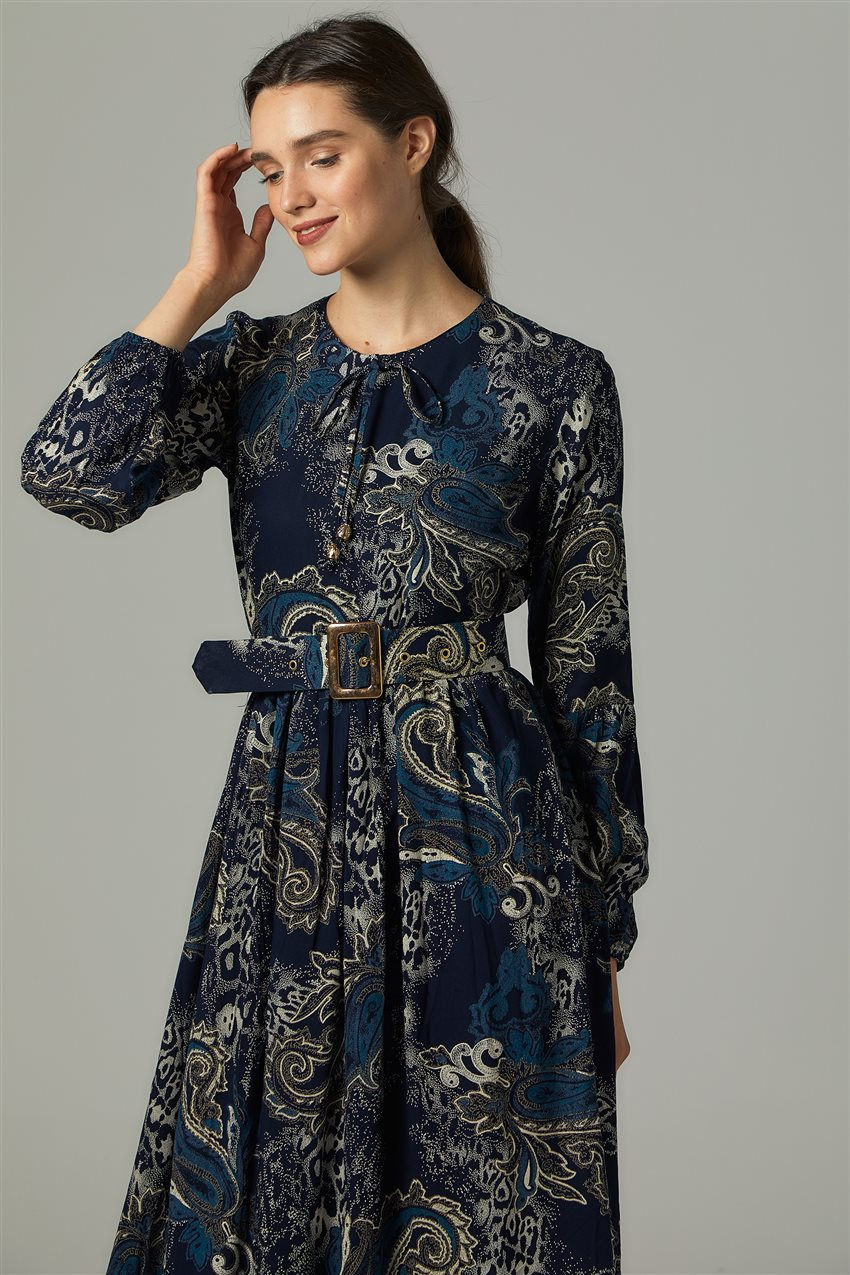 Dress-Navy Blue US-0S5055-17 - 7