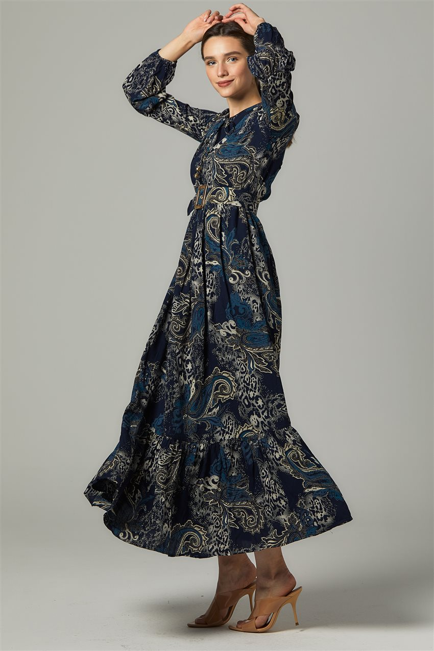Dress-Navy Blue US-0S5055-17 - 6