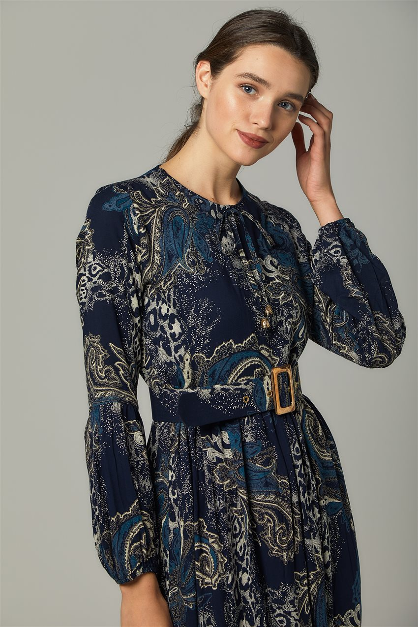 Dress-Navy Blue US-0S5055-17 - 9