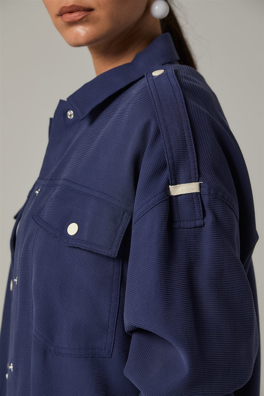 Jacket-Navy Blue KA-B20-13005-11 - 12