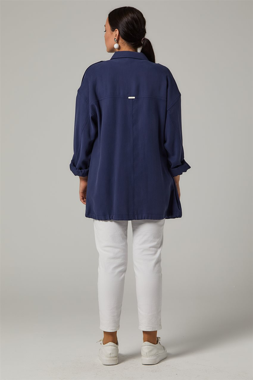 Jacket-Navy Blue KA-B20-13005-11 - 11