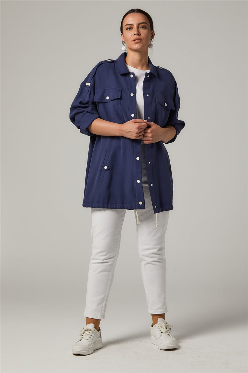 Jacket-Navy Blue KA-B20-13005-11 - 7