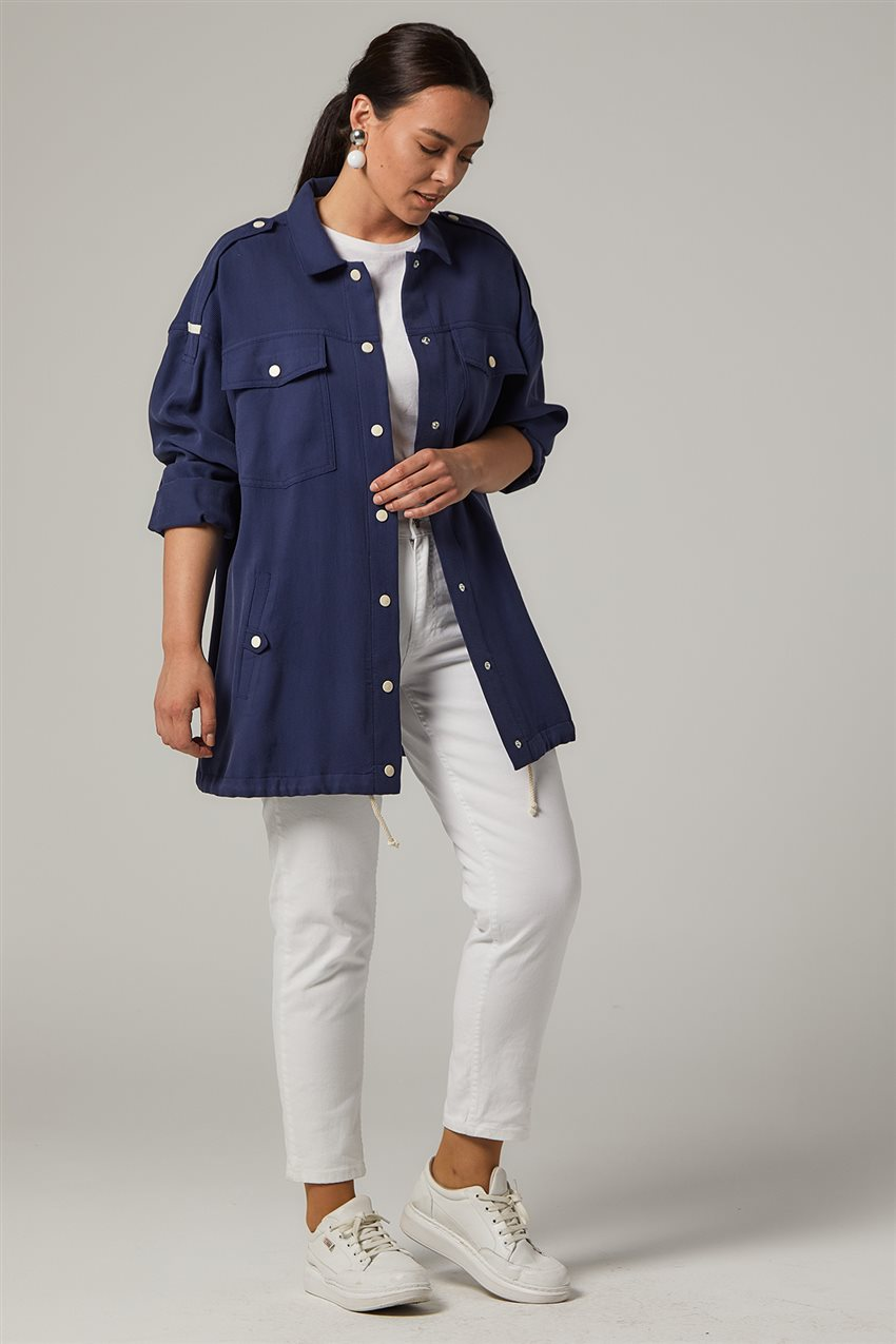 Jacket-Navy Blue KA-B20-13005-11 - 8
