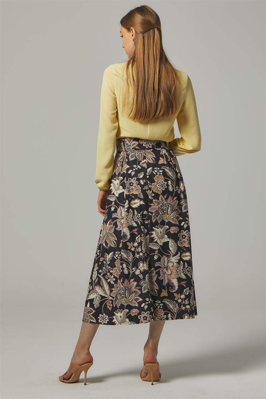 Skirt-Black MS111-12 - 12